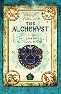 Image of The Alchemyst Book Cover.