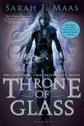 Image of Throne of Glass Book Cover.