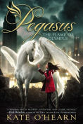 Image of The Flame of Olympus Book Cover.