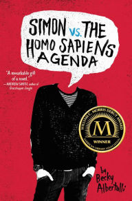 Image of Simon Vs The Homo Sapiens Agenda Book Cover.