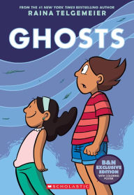Image of Ghosts Book Cover.
