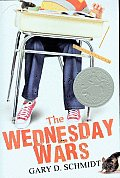 Image of The Wednesday Wars Book Cover.