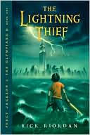 Image of The Lightning Thief Book Cover.