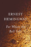 Image of For Whom the Bell Tolls Book Cover.