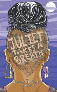 Image of Juliet Takes a Breath Book Cover.