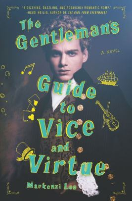 An Image of The Gentlemans Guide to Vice and Virtue Book Cover.