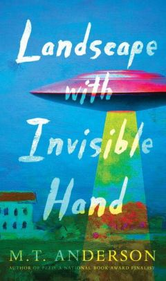 An Image of the Landscape With Invisible Hand Book Cover.