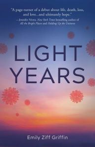 An Image of Light Years Book Cover.