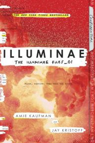 An image of the Illuminae Book Cover.