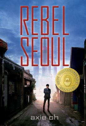 An Image of the Rebel Seoul Book Cover.
