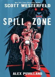 An Image of the Spill Zone Book Cover.