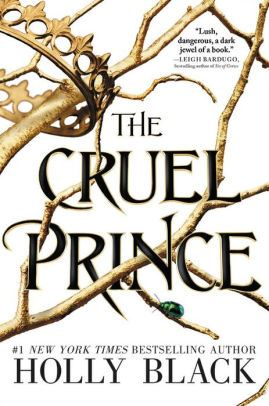 An image of The Cruel Prince book cover.