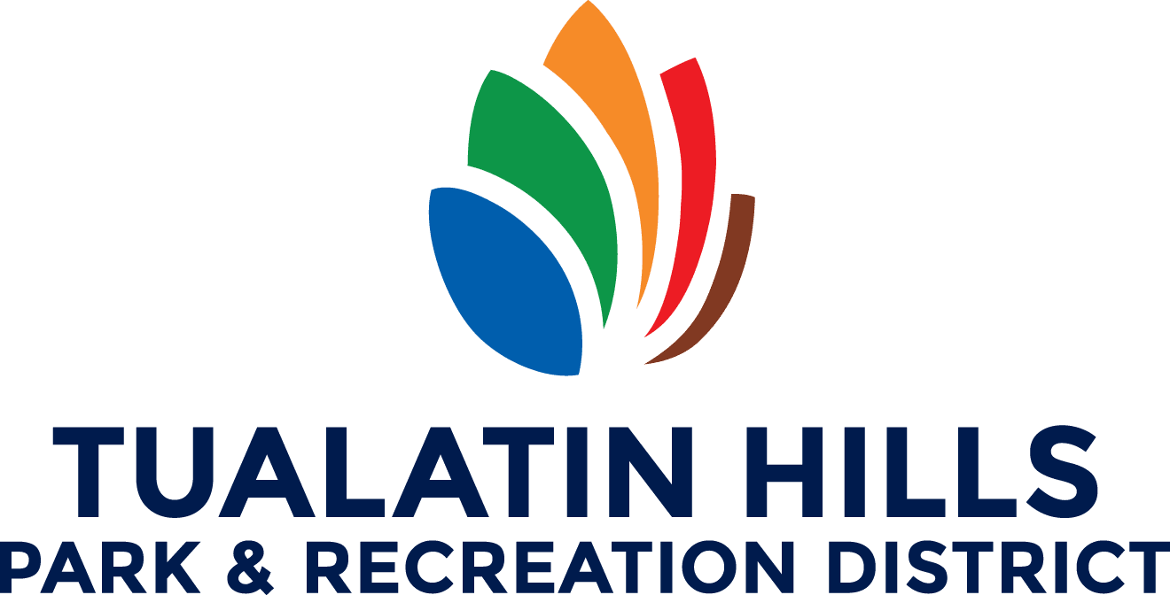 Logo for Tualatin Hills Park and Recreation District, special park district in Western Oregon.