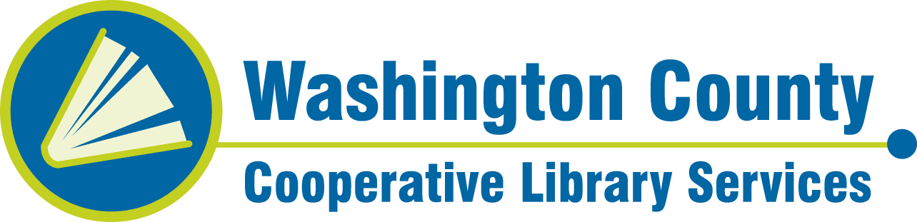 Logo for Washington County Cooperative Library Services, serving Washington County, Oregon.