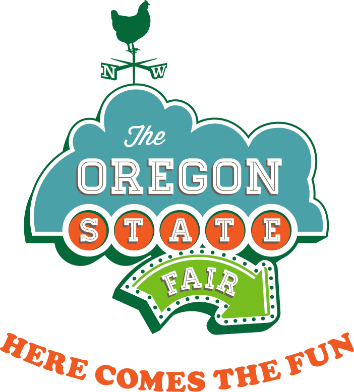 Logo for Oregon State Fair, State of Oregon's official annual fair.