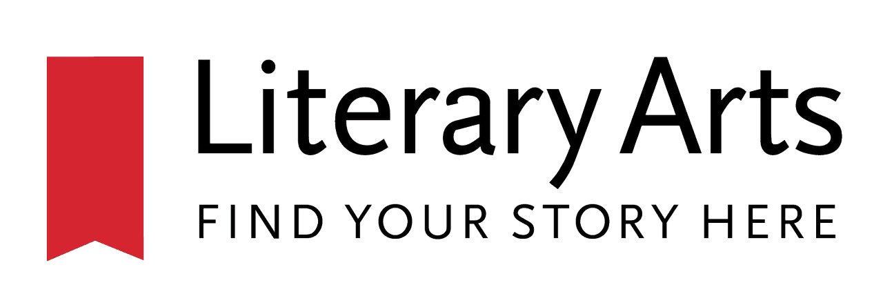 Logo for Literary Arts, celebrating Oregon's writers and publishers.