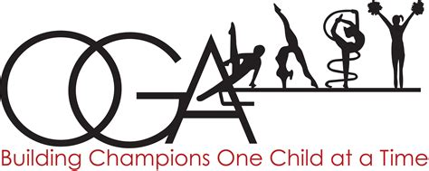 Logo for Oregon Gymnastics Academy, nonprofit building character through sport.