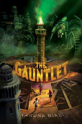 An image of The Gauntlet Book Cover.