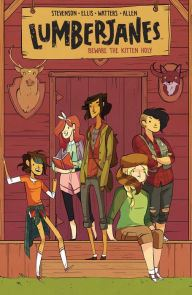 An image of the Lumberjanes Book Cover.