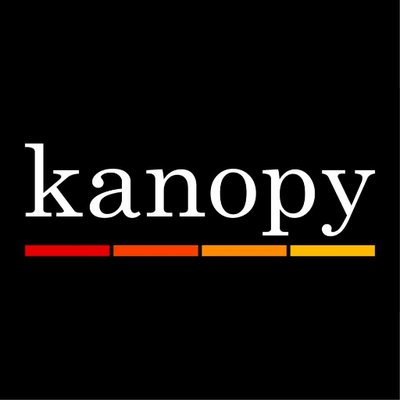 An image of the Kanopy streaming service logo.