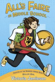 An Image of the Alls Faire in Middle School Book Cover.