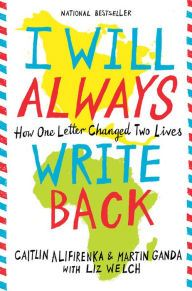 An image of the I Will Always Write Back Book Cover.