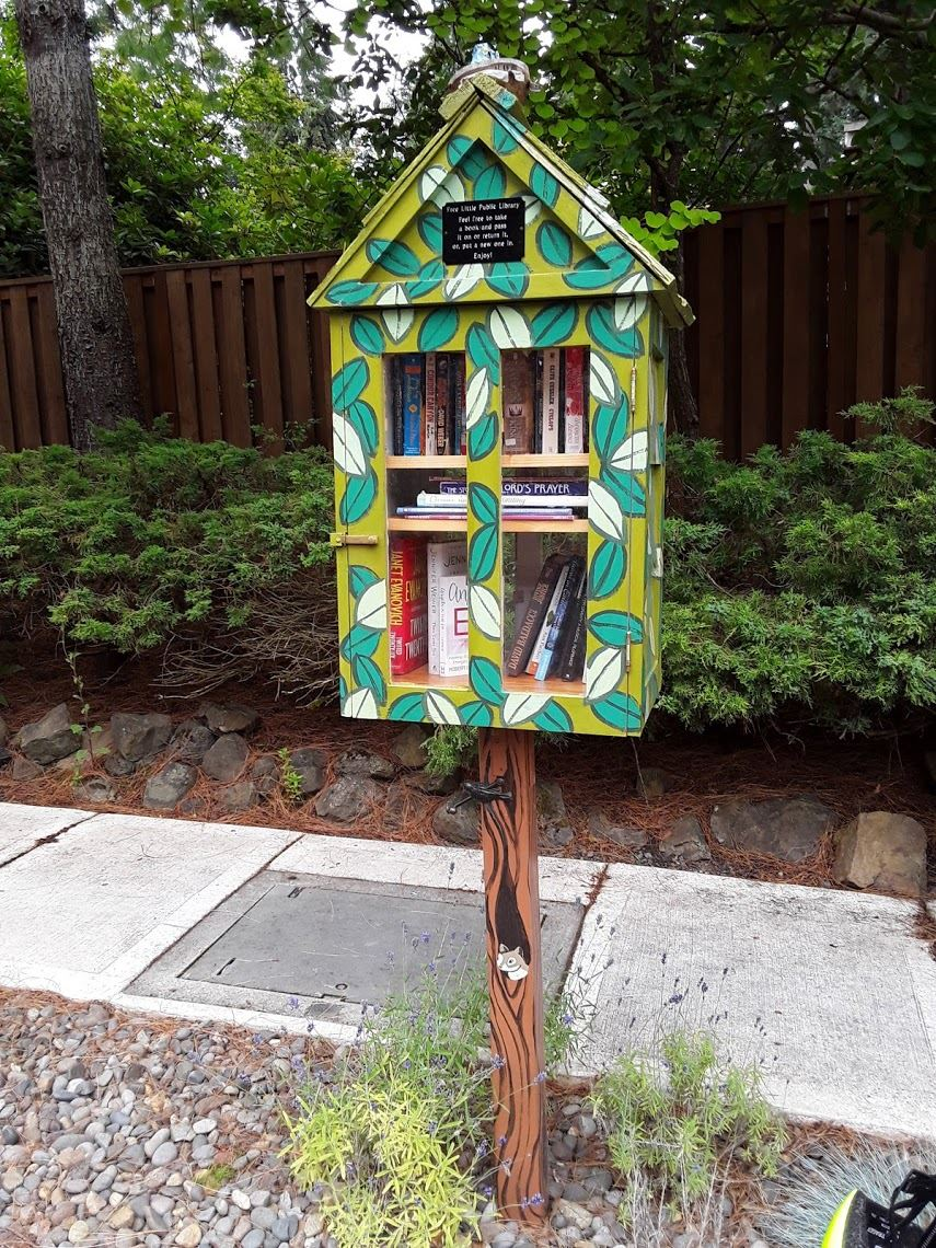 Image of Little Free Library on 140th Ave.