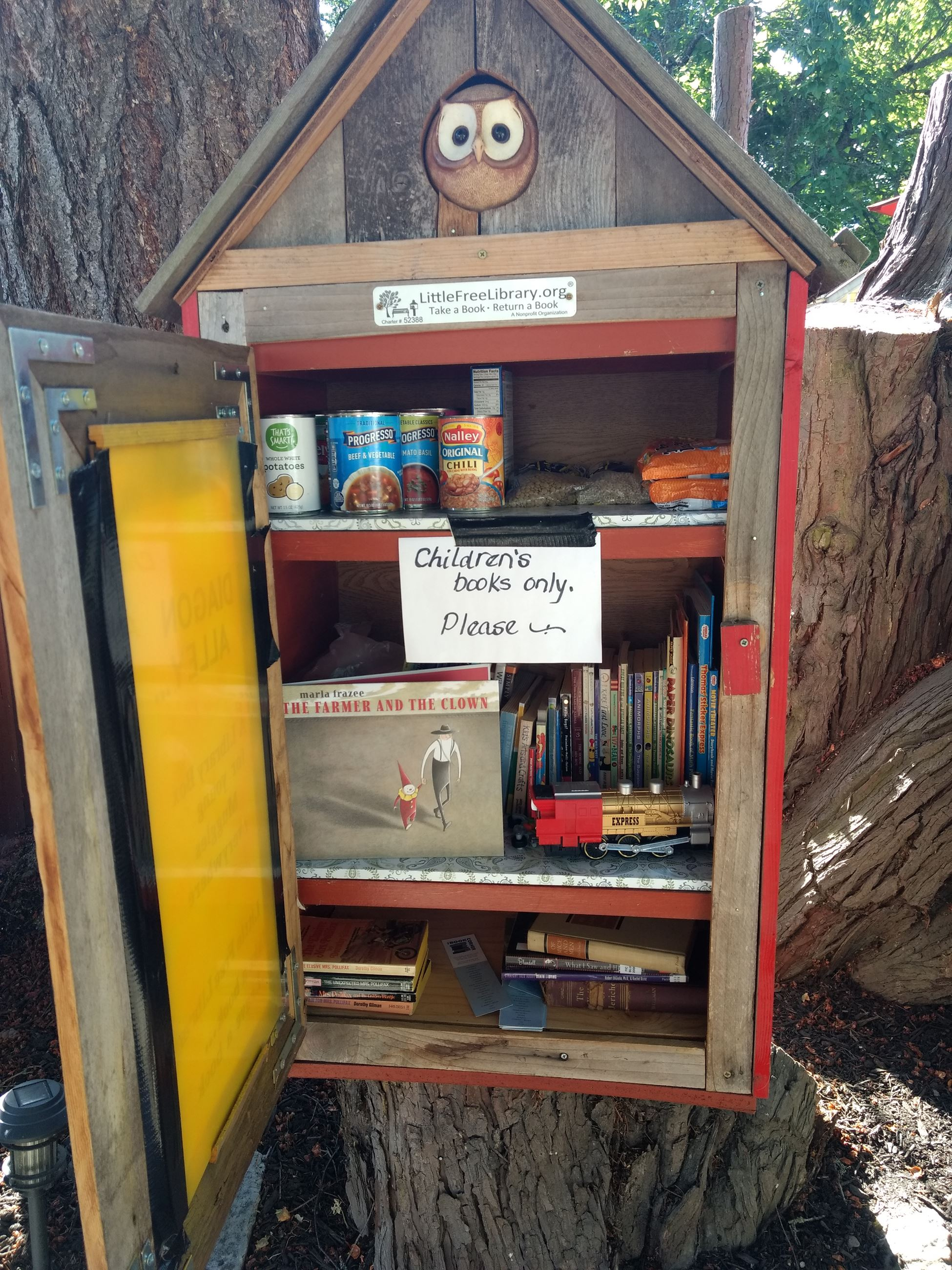 Image of Little Free Library on Main Ave.
